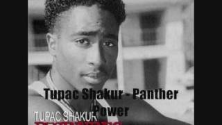 Tupac Shakur - Panther Power