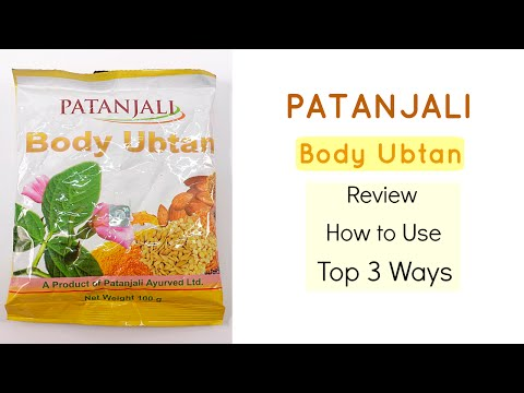 , title : 'Patanjali Body Ubtan | Review and How to Use | Top 3 Ways'