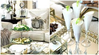 NEW! Fall Entertaining Around Your Coffee Table