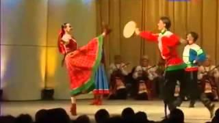 Русские песни   Танец с бубнами