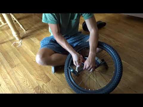 Diamondback LX Unicycle Unboxing