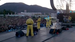 DEVO That's Good at ROCKOUT FESTIVAL in Santiago CHILE Dec. 6th 2014