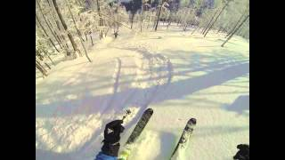 preview picture of video 'Szczyrk Cyrna freeride 2013'