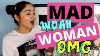 My Full Reaction To MAD WOMAN By Taylor Swift {FOLKLORE}