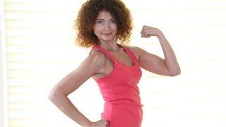 Пилатес для похудения и тонуса мышц - Урок 1 (мышцы пресса, спины и рук)