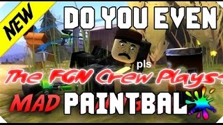 Roblox Mad Paintball Kat The New Op Machine Kat Gameplay