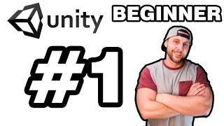 Unity Beginner Basics | Video Game Design | 3D in 2021!