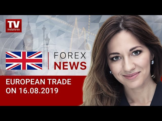 16.08.2019: EUR likely to continue downtrend (EUR, USD, GBP, GOLD)