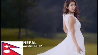 Asmi Shrestha Contestant from Nepal for Miss World 2016 Introduction