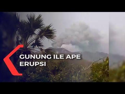 gunung ile ape erupsi