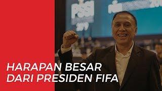 Harapan Besar Presiden FIFA terhadap Pimpinan Baru PSSI
