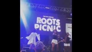 "DONN T Live The Roots Picnic 2015 song ""Waiting"" from Flight Of The Donn T"