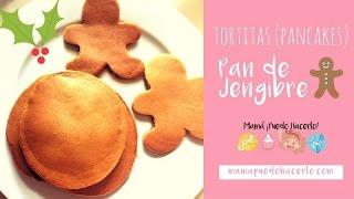 Tortitas (Pancakes) de Pan de Jengibre