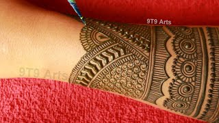 Wedding 2020 Special Full Hand Mehndi Design||Back Hand Dulhan Mehndi||Bharwa Mehdi Designs For Hand