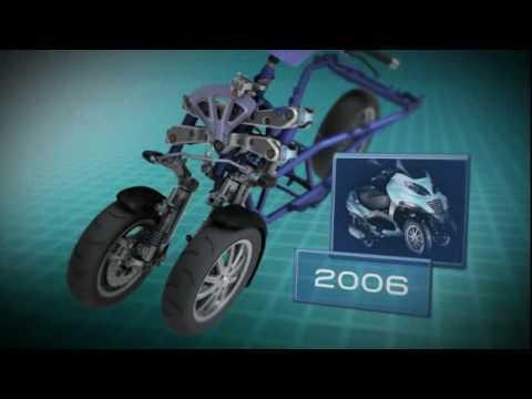 Piaggio MP3 Hybrid Technical Video