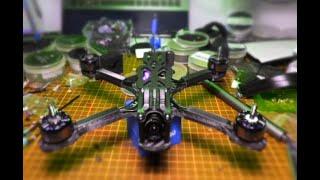 Profesyonel Seviyede Drone Toplama Serisi Bölüm #1|Freestyle Drone|