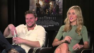 TRANSFORMERS: AGE OF EXTINCTION Interview - Nicola Peltz and Jack Reynor