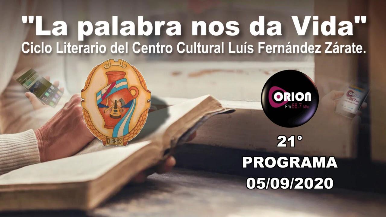 """La palabra nos da Vida"" - 21° programa del sábado 05/09/2020."
