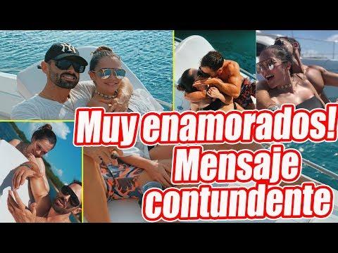Novio de Lina Tejeiro publica fotografias con ella y causan revuelo en redes sociales.