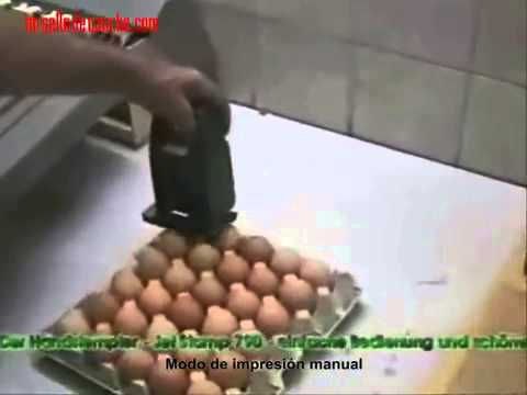 Handheld Eggs Inkjet Printer