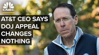 AT&T CEO Randall Stephenson: DOJ Appeal Doesn
