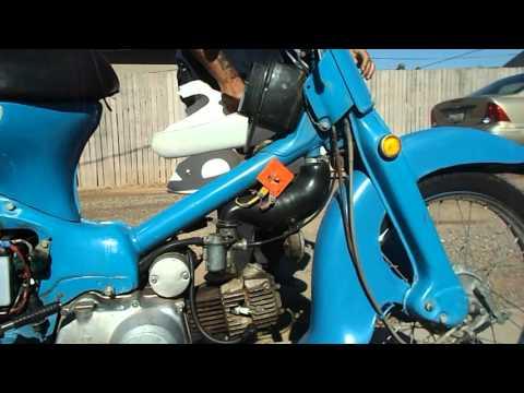 1964 Honda Trail 55 Troubleshooting Cub Carburetor - campcuster