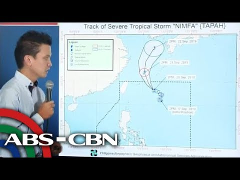 [ABS-CBN]  PAGASA holds press briefing | 20 September 2019