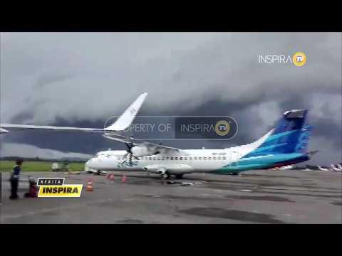 BERITA INSPIRA - Awan Hitam Cumulonimbus Muncul Di Langit Makassar