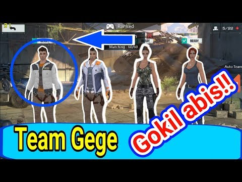 Sumpah Gokil Abis!! TEAM TER GG|| RULES OF SURVIVAL ||