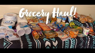 Eating Healthy In A Dorm Room | Grocery Haul