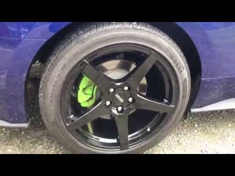New Shoes! New Rims And Tires Ecoboost Ford Mustang In 4K