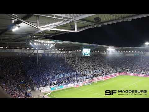 Choreo 1. FC Magdeburg gegen B…
