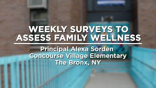 Using Weekly Surveys to Assess Family Wellness