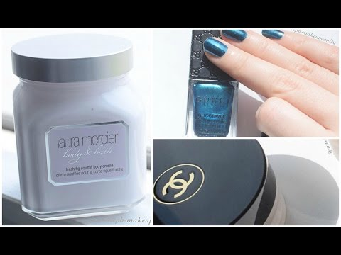 High End Beauty Haul ♥ Chanel , Gucci, Laura Merceir