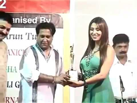 POOJA Misra awarded for best entertainer for big boss season 5