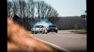 Mercedes C63s CRASH!! Huracan Performante, LaFerrari Aperta, GT3RS..