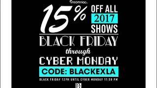 Exchange LA Black Friday to Cyber Monday Savings!