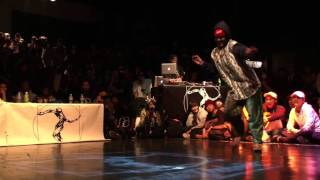 BUBEE+oSaam vs YASS+Yusei【JUSTE DEBOUT JAPAN 2016】HIPHOP FINAL