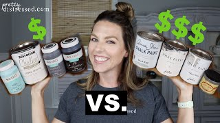 Chalk Paint Bargain V. Premium Brands |  Waverly, Rustoleum V. Annie Sloan, Dixie Belle, Jolie