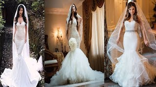 Georgeous Mermaid White Gown Designs Ideas||Stylish Mermaid Wedding Dresses/Top Mermaid Wedding Gown