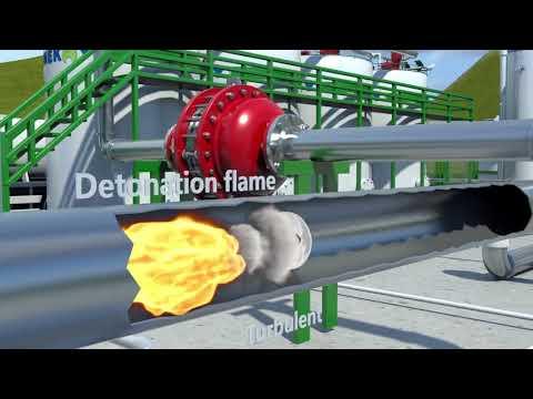 Hệ thống thu hồi hơi nước Bộ chống cháy nổ - 0902720814
