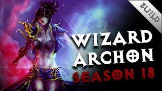 Diablo 3 - Solo Vyr's Chantodo Wiz - GR 133 - Season17