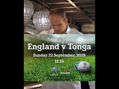 England v Tongo September 22nd 11:15