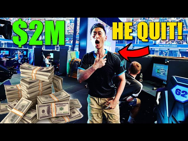 $2,000,000 Won and he QUIT! Why? Bugha NEVER Streaming Finals Because of CHEATERS? Tfue Qualifies!