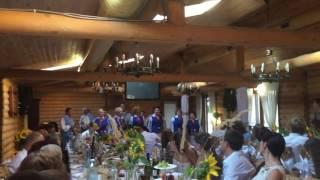 """Гурт """"Барвінок"""" на весіллі м.Рівне"""