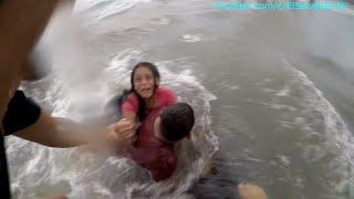 Se ahoga la Nayeli!! Se nos va!!! Ayuda!!. Una aventura en la playa el Saite. Parte 6/6