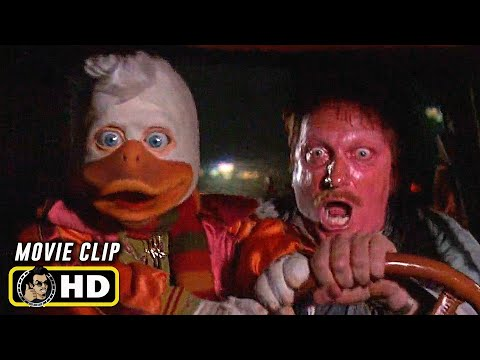 HOWARD THE DUCK (1986) Step On It [HD] Car Chase Scene