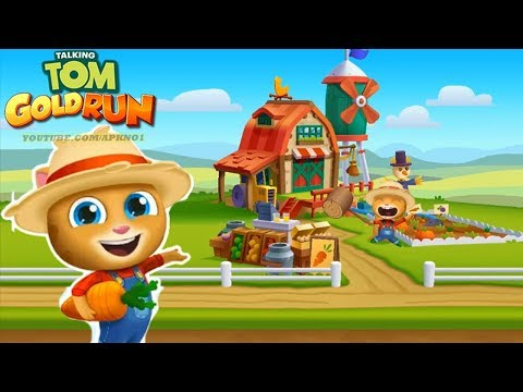 Talking Tom Gold Run Big Update - New World Ginger's Farm