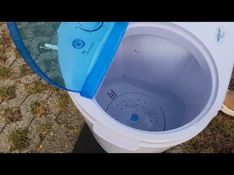 CamperTobi - Gadget oder brauchbar? Die Reisewaschmaschine. Caravan Salon Düsseldorf 2018