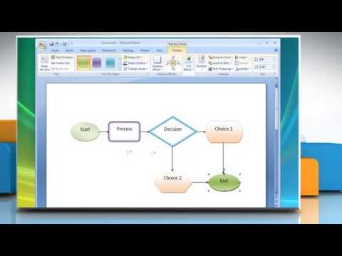 How To Create A Flow Chart In Microsoft® Word 2007 Mp3